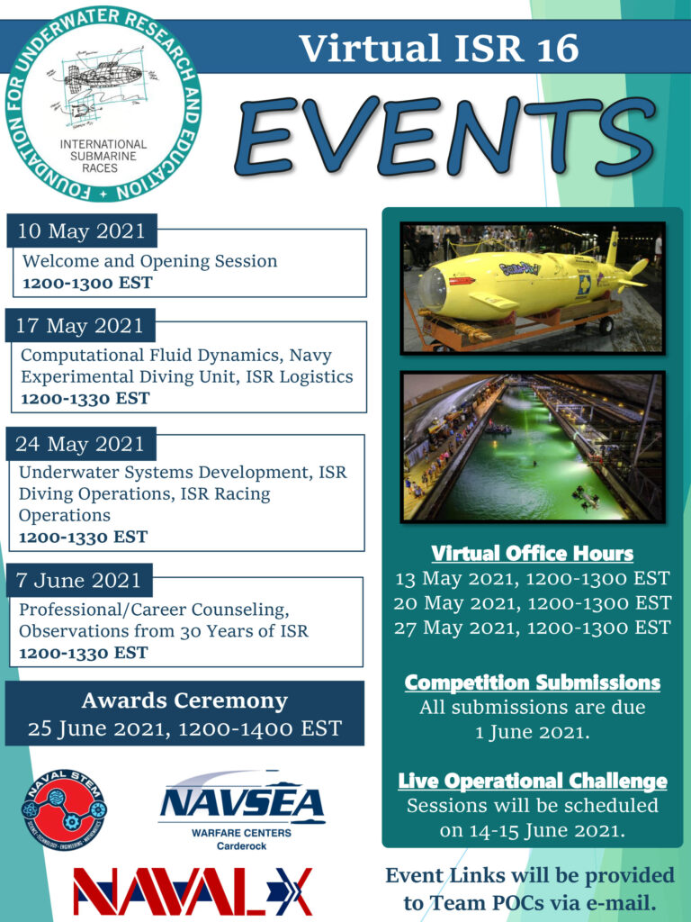 vISR 16 Events